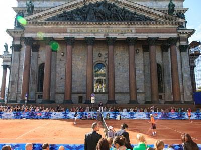 Наш корреспондент – о старте St. Petersburg Open