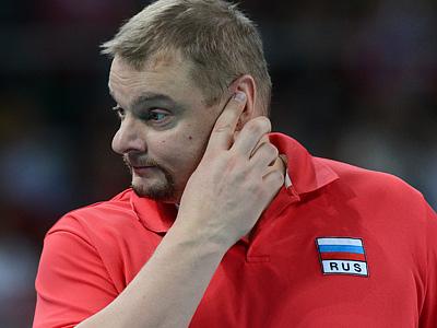 После победы на ОИ Владимир Алекно не скрывает эмоций