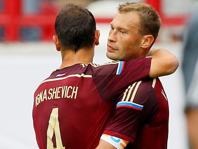 Сергей Игнашевич и Василий Березуцкий