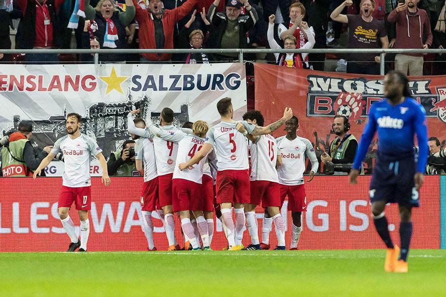 «Зальцбург» вышел в полуфинал Лиги Европы