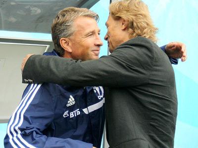 Дан Петреску и Валерий Карпин