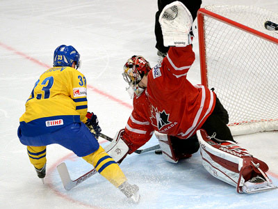 Сборная Швеции вырвала победу у Канады – 3:2 ПБ
