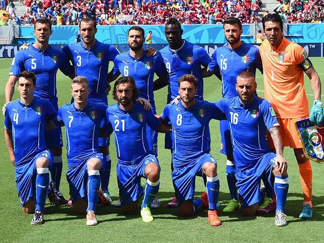 Сборная Италии на чемпионате мира — 2014