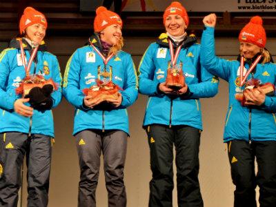 Представление сборной Украины по биатлону
