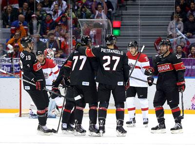 Сочи-2014. Канада - Австрия - 6:0