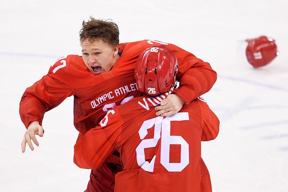 Новокузнечанин Капризов 2-ой раз номинирован название лучшего юного хоккеиста Европы