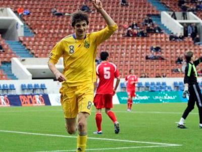 Молодёжная сборная Украины в матче за третье место обыграла Белоруссию