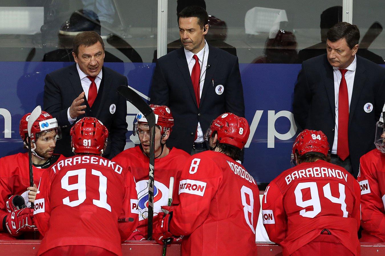 Главный тренер сборной России прокомментировал выход на Канаду в 1/4 финала ЧМ-2021