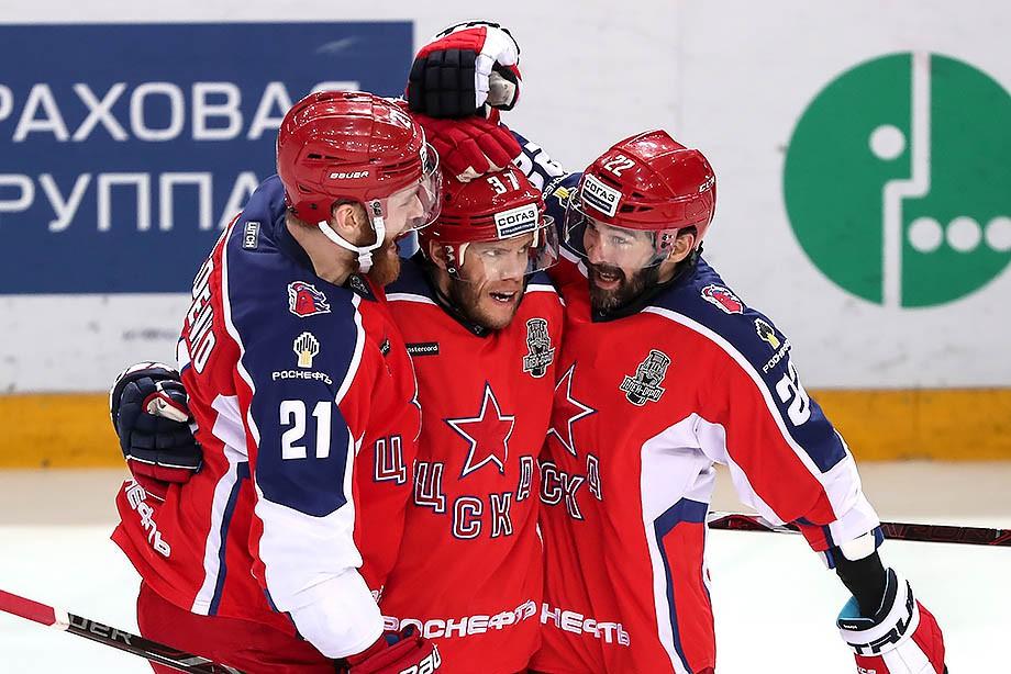 Хоккей. ЦСКА победил СКА в четвёртом матче финала