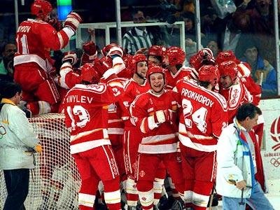 Хоккей на Олимпиаде 1992 года