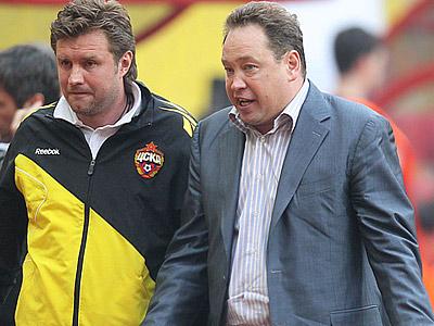 Леонид Слуцкий и Сергей Шустиков