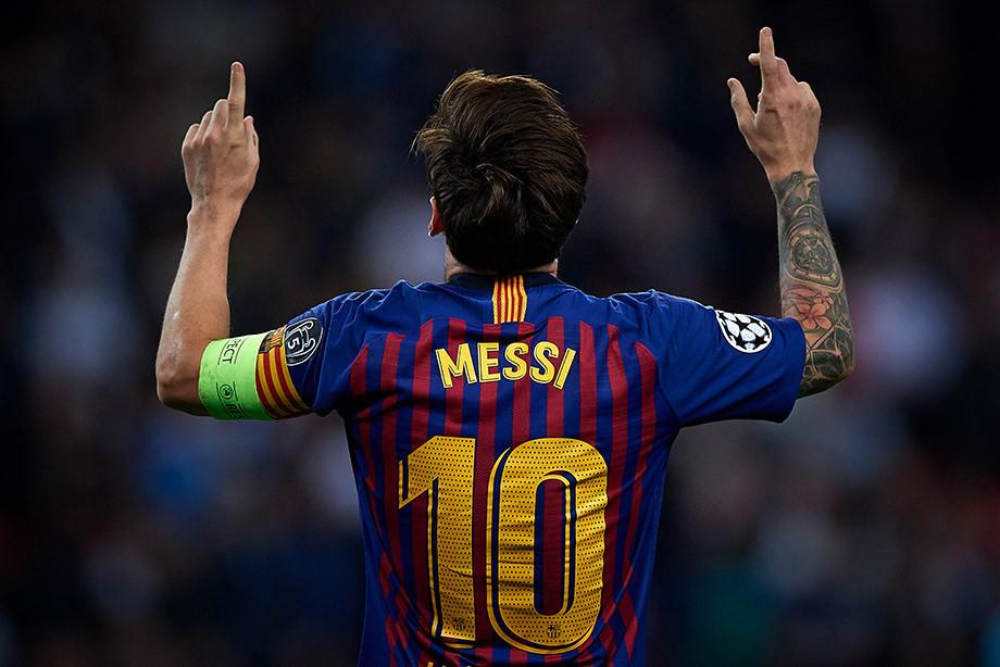 Месси 2-ой раз подряд признан лучшим игроком недели вЛиге чемпионов