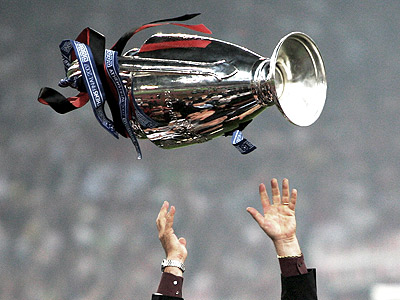 Мгновения финалов Лиги чемпионов