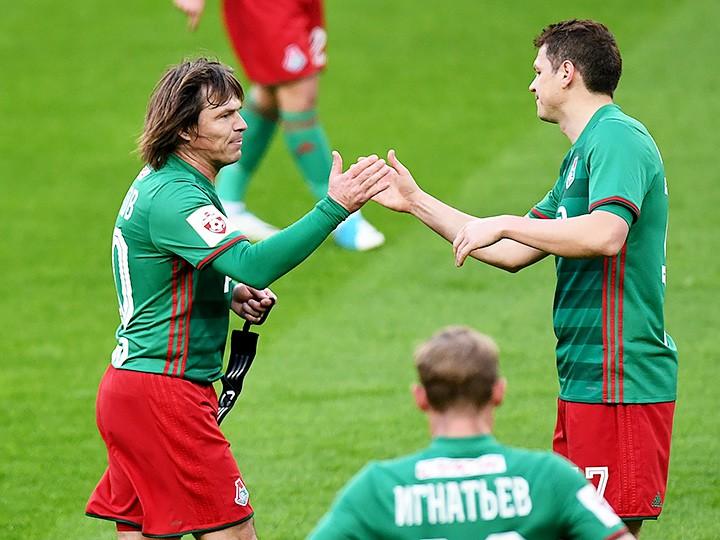 Дмитрий Лоськов сыграл в 28-м туре РФПЛ — «Локомотив» — «Оренбург»