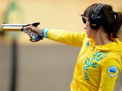Елена Костевич завоевала бронзовую награду в стрельбе из пистолета