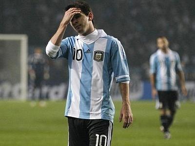 Аргентина начинает за упокой