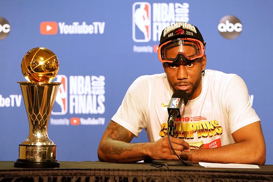 Кавай Леонард выиграл НБА и уходит из «Торонто Рэпторс»