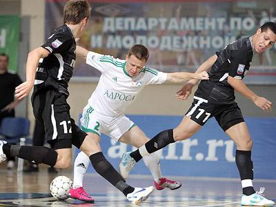 Стартует 1/8 финала Кубка России по мини-футболу
