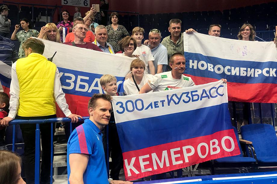 Россия на домашнем этапе Лиги наций не отдала соперникам ни сета