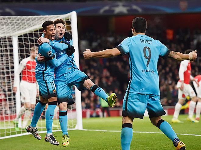 «Арсенал» - «Барселона» – 0:2. 23 февраля 2016. Видео, обзор матча