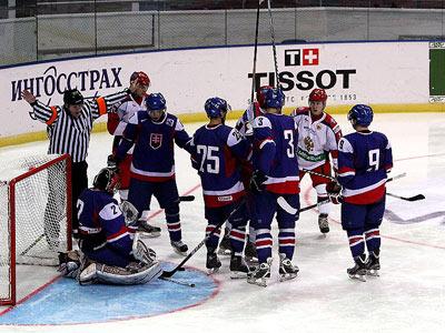 В Санкт-Петербурге Чехия уступила Швеции, Россия проиграла Словакии
