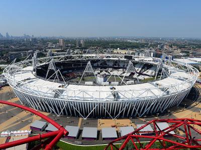 Олимпийский стадион в Лондоне