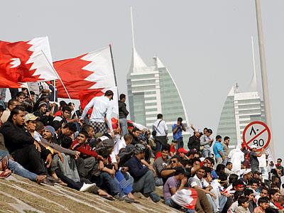 Бахрейн перестал быть скучным