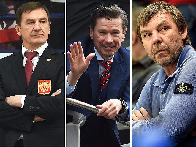 Знарок, Быков, Мортс, Гончар и другие тренеры для КХЛ