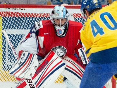 Голкипер сборной Норвегии Ларс Хёуген о предстоящей встрече с Россией