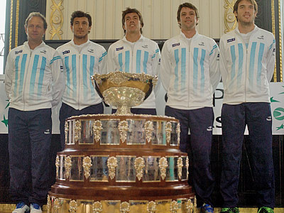 Кубок Дэвиса. Аргентина перед матчем с Чехией