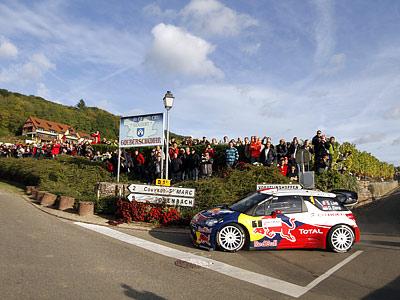 Обзор пятницы Ралли Франции WRC-2012