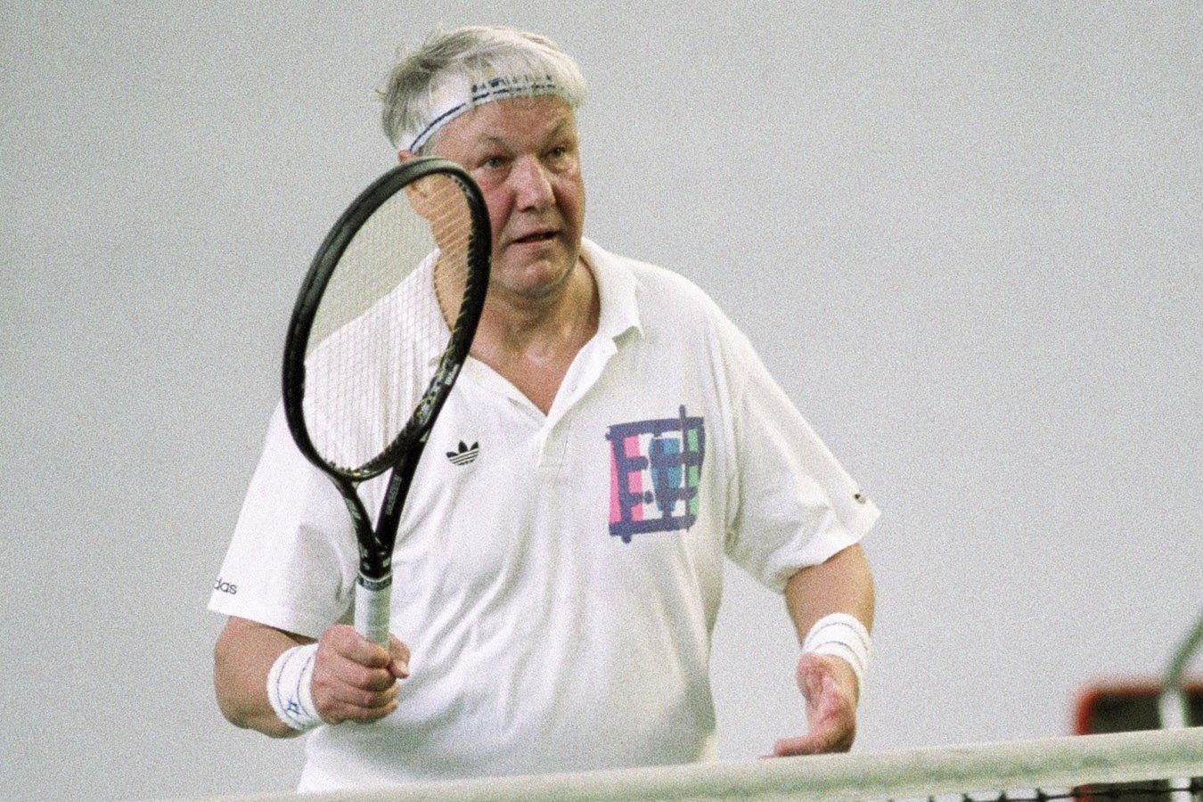 Как Борис Ельцин раскрутил в России теннис