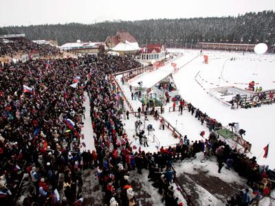 В Чехии стартовал чемпионат мира по биатлону