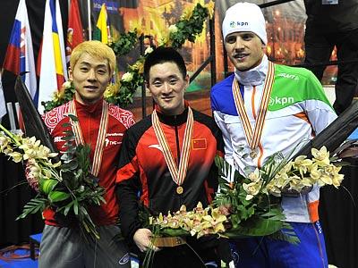 Виктор Ан заработал серебро на ЧМ по шорт-треку