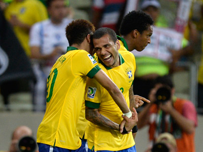 Кубок конфедераций — 2013. Бразилия – Мексика
