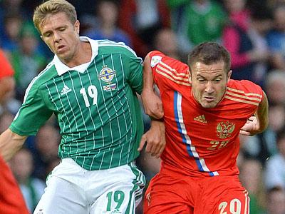 Северная Ирландия — Россия — 1:0