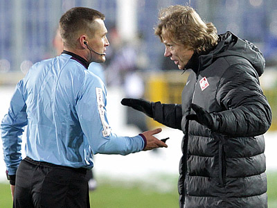 Владислав Безбородов и Валерий Карпин