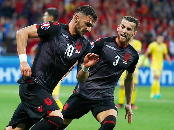 Румыния — Албания — 0:1