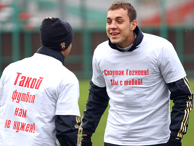 Сборная поддержала Гогниева