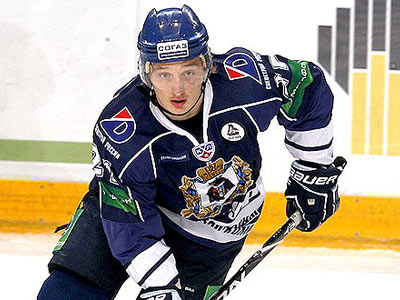 Нападающий Дмитрий Лугин – выпускник МХЛ и лучший новичок КХЛ
