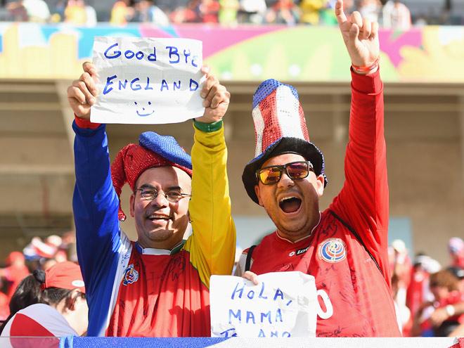 Англия лишилась шансов выйти в плей-офф