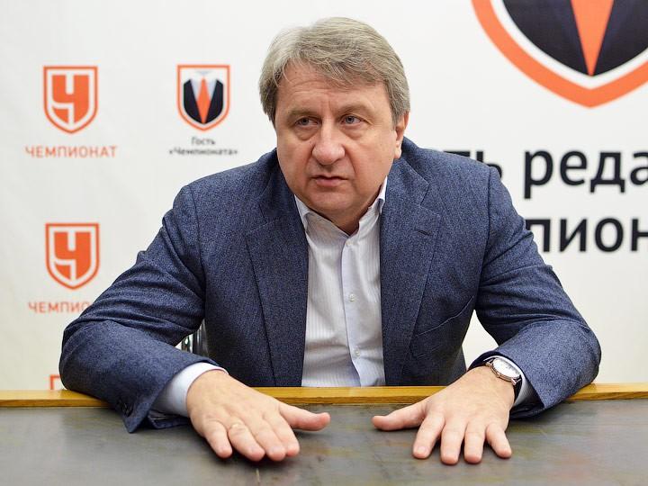 Евгений Муравьёв в гостях у «Чемпионата»