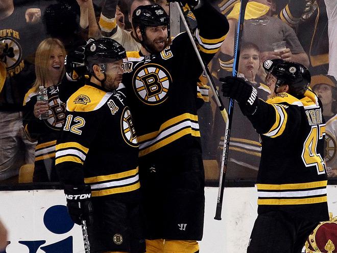 «Бостон» выиграл пятый матч серии