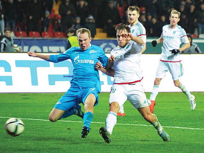 «Терек» победил «Зенит» в 17-м туре