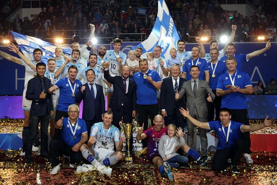 «Зенит + волейбол = Казань». В Питере не согласны