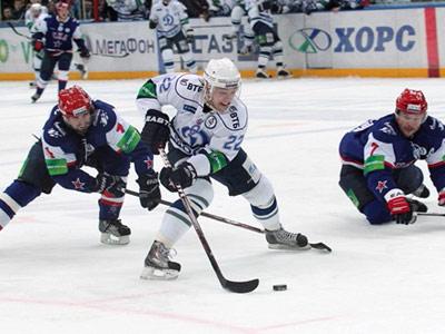 Михаил Анисин не реализовал буллит в ворота СКА