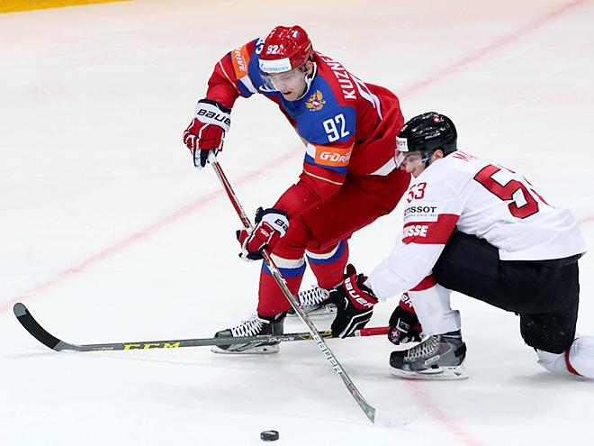 ЧМ-2016. Россия – Швейцария – 5:1