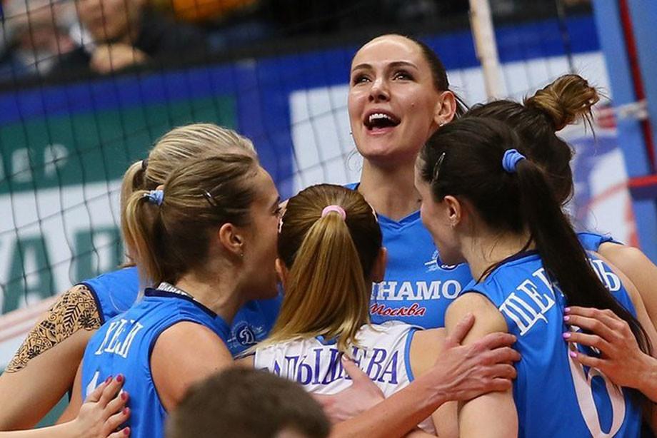 Волейбол, женская Суперлига: «Динамо-Москва» обыграло «Ленинградку» – 3:0