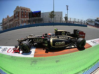 Анализ выступлений команд на Гран-при Европы Формулы-1
