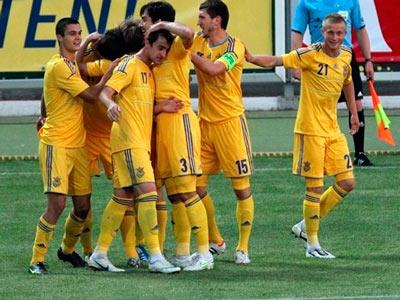 Молодёжная сборная Украины обыграла Словению